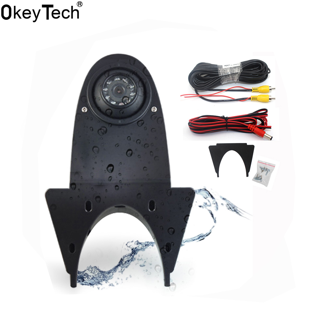 OkeyTech Car Rear Camera For Mercedes Benz Sprinter For Volkswagen Crafter CCD  Infrared Vehicle Backup Reverse HD Night Vision-in Vehicle Camera from Automobiles & Motorcycles