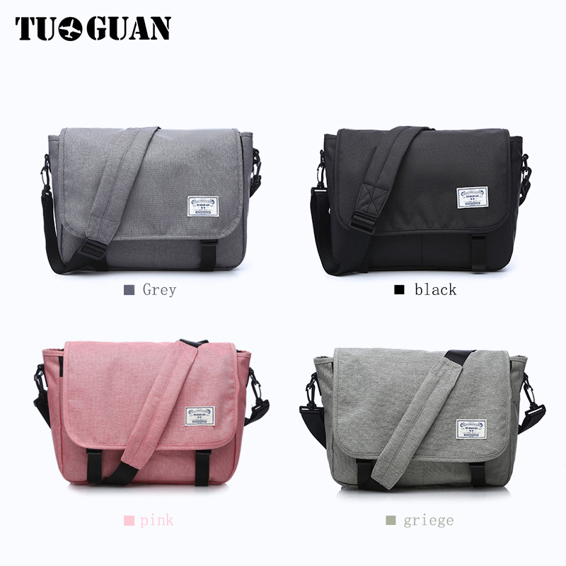 Men/'s Fashion Business Travel Shoulder Bag Men Messenger Bags Canvas Briefcase