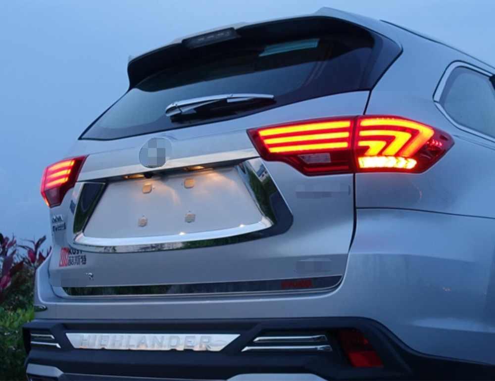 Автомобильный Стайлинг для Toyota задние фары Highlander 2015 выделенный свет