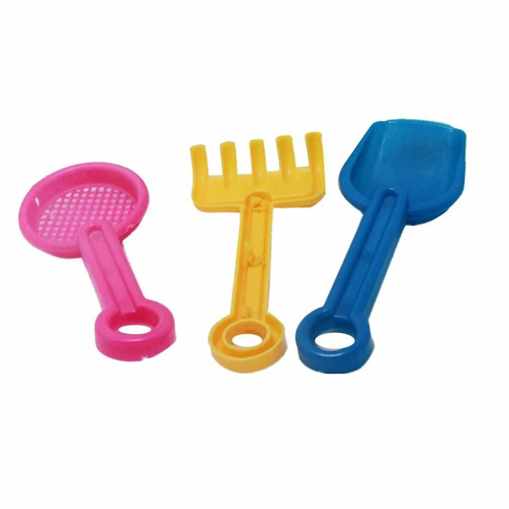 4 قطعة الجدة البسيطة ألعاب للشاطئ مجموعة الرمال دلاء دلو مع شوكة جرف الصيف بركة شاطئ الرمال اللعب لعب هدية للأطفال الاطفال