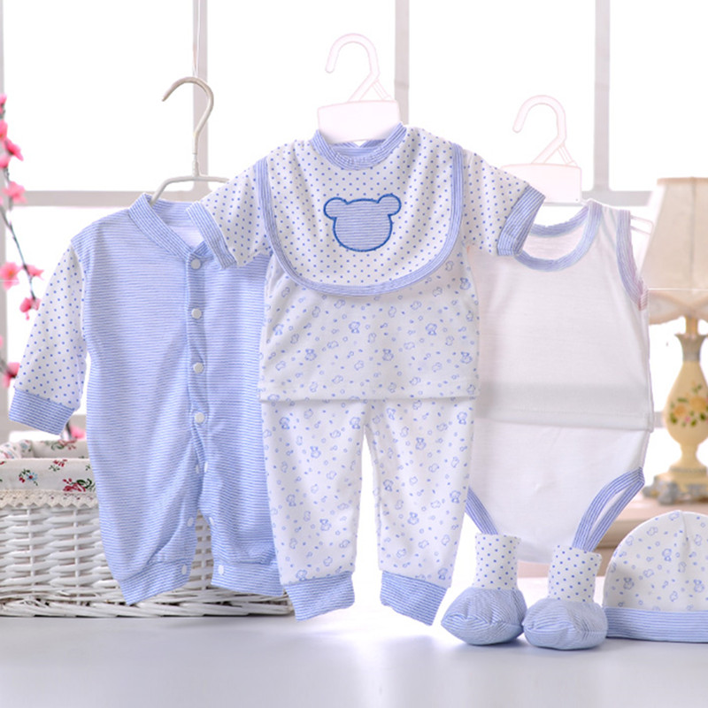 8pcssetNewborn-Baby-set-0-3M-Brand-Boy-Girl-baby-Clothes-set-Cotton-Printed-Single-breasted-Underwear-B-021-4