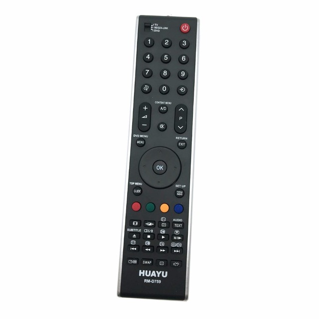 RM D759 Universal REMOTE CONTROL Replacement TOSHIBA TV 55SV685DR, 55ZV635D,55ZV635DR CT 90301 CT 90327 CT 9995 CT 9396 CT 9734