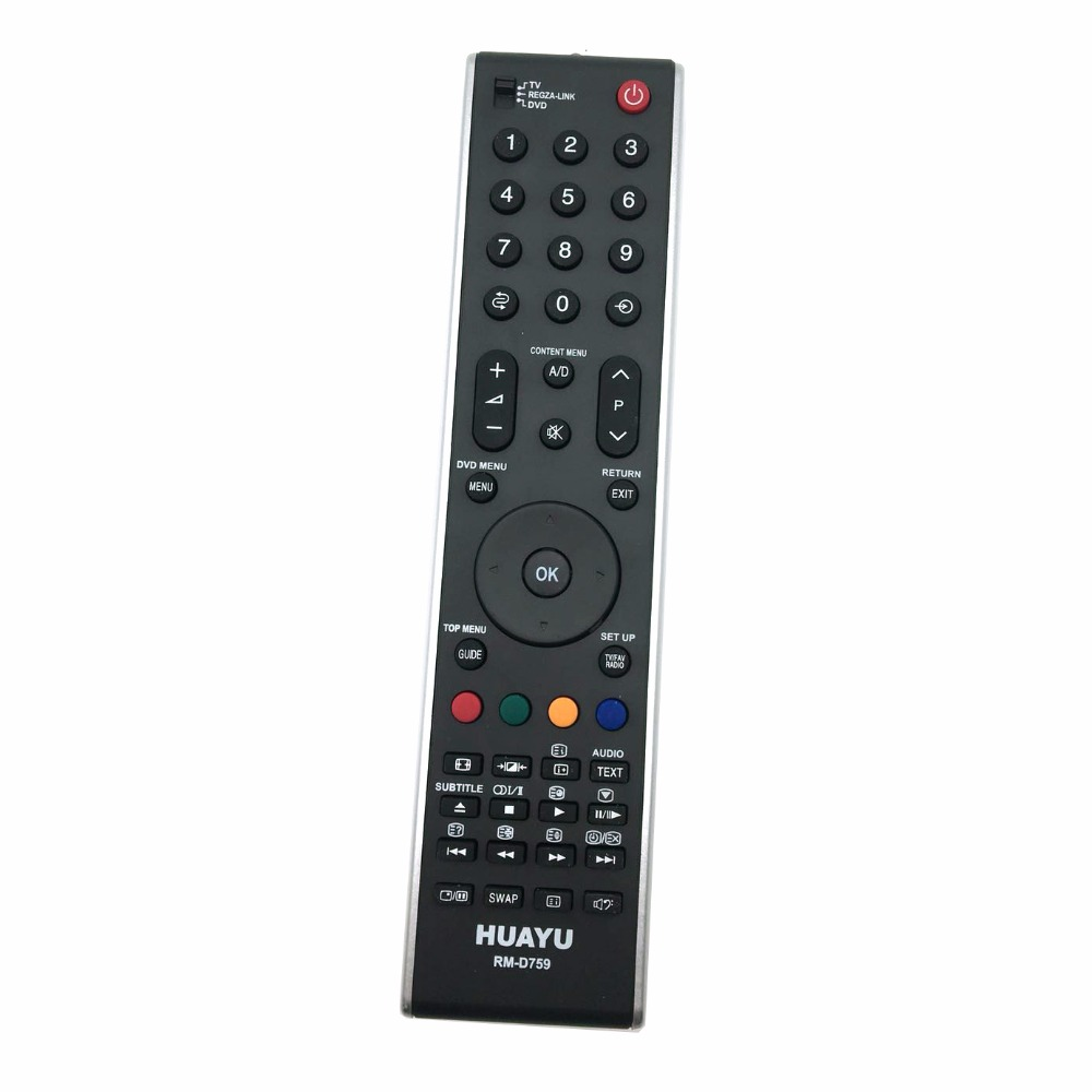 RM-D759 Universal REMOTE CONTROL Replacement TOSHIBA TV 55SV685DR, 55ZV635D,55ZV635DR CT-90301 CT-90327 CT-9995 CT-9396 CT-9734