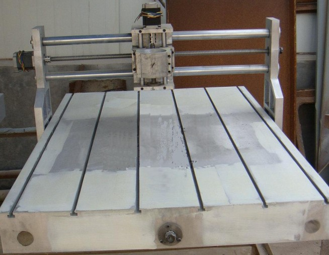 Free tax to Russia CNC 6090 Casting Frame kit, with lathe bed, ball screw, stepper motor and coupler free tax to eu high quality cnc router frame 3020t with trapezoidal screw for cnc engraver machine