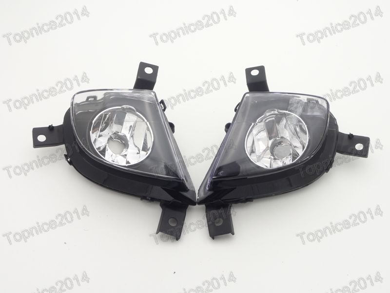2Pcs Car styling Front Bumper Fog Lights Fog Lamps For BMW 3-Series E90 2008-2011 цена 2017
