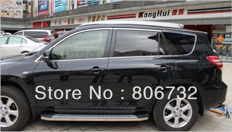 Full window trim(10 pcs) for toyota RAV4 2006 2007 2008 2009 2010 2011 2012 only fit for North American long style
