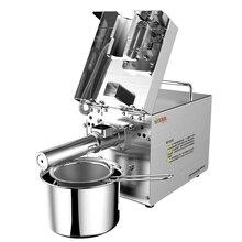 все цены на Stainless steel cold mini coconut oil press machine oil extraction machine онлайн