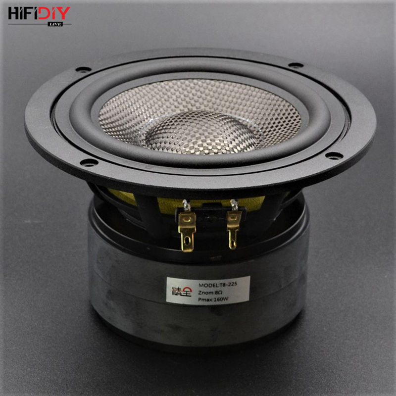HIFIDIY LIVE HIFI 5 5 inch 5 98 Midbass Woofer speaker Unit 8OHM 100W Casting Aluminum