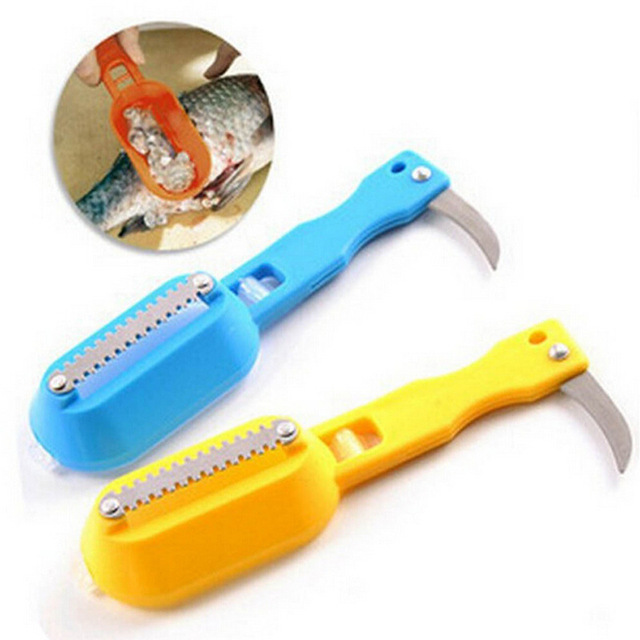 1 Pcs Fish Scale Shearing Dual Purpose Cleaning Skin Sus