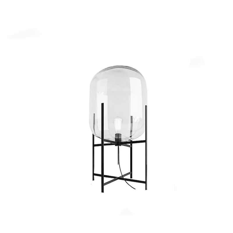 Современная железная стеклянная окрашенная Минималистичная Настольная лампа с переключателем E27 светодиодный 220 V для спальни гостиной прикроватная офисная для кабинета отеля бар