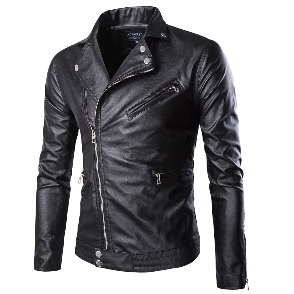 Popular Leather Jackets Men Sale-Buy Cheap Leather Jackets Men ...