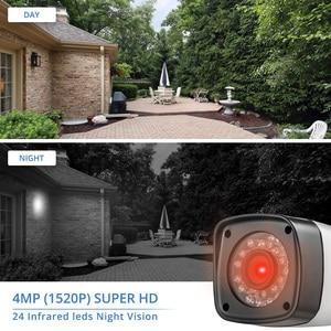 Image 2 - Fuers 4.0mp 4ch 5in1 ahd dvr vigilância cctv sistema de segurança 1520 p à prova dwaterproof água câmera cctv vídeo hdmi com 1 tb 2 hdd diy conjunto