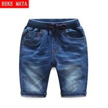 BEKE MATA Denim Shorts For Boys 2017 New Casual Summer Boys Shorts Pants Kids Jeans Trousers Cotton Children Summer Shorts 2-7Y