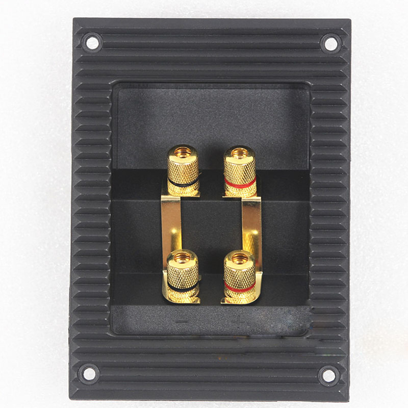 5pcs four speaker junction box audio cable adapter speaker connector posts joints thickened. Black Bedroom Furniture Sets. Home Design Ideas