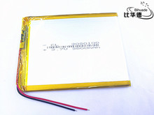 3.7V 3800mAh 3080100 Lithium Polymer Li-Po li ion Rechargeable Battery cells for tablet pc 7 inch 8 inch 9inch