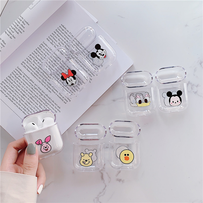 For Airpods case Cute for airpods cover Cartoon protective