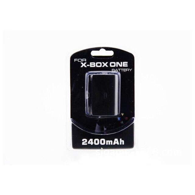 HAOBA Xbox One เฉพาะแบตเตอรี่ 2400Mah ชาร์จแบตเตอรี่ Pack สายชาร์จสำหรับ Xbox One