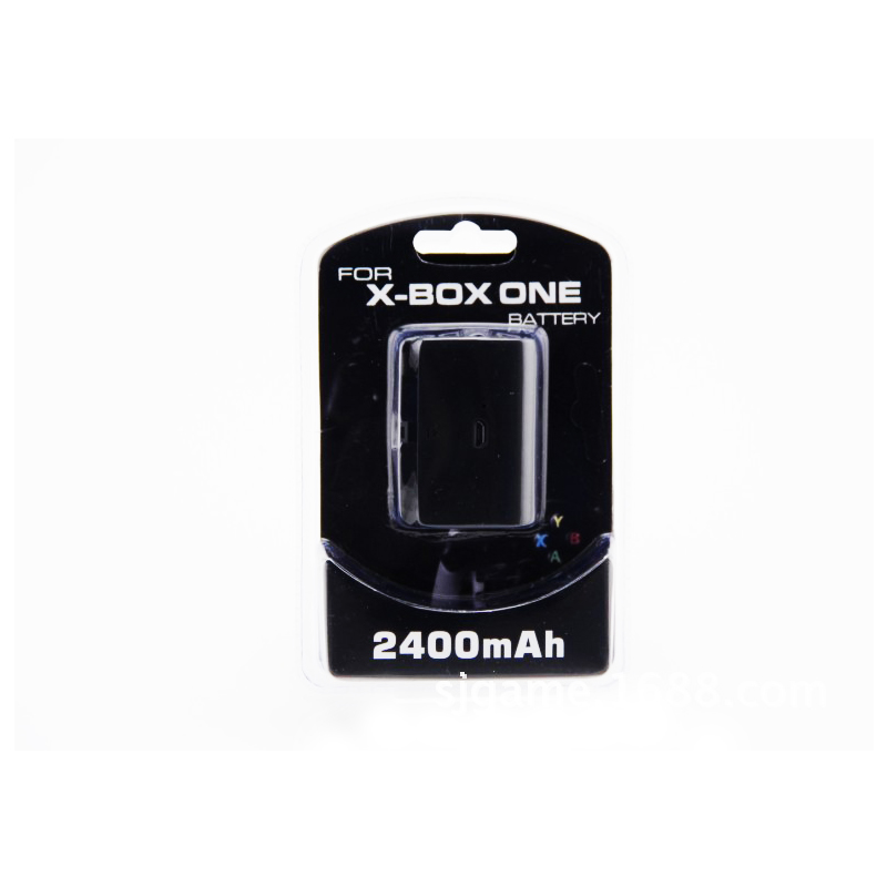 HAOBA Xbox One dedicated battery 2400Mah Rechargeable Battery Pack Charging Cable For Xbox One Handle-in Gamepads from Consumer Electronics
