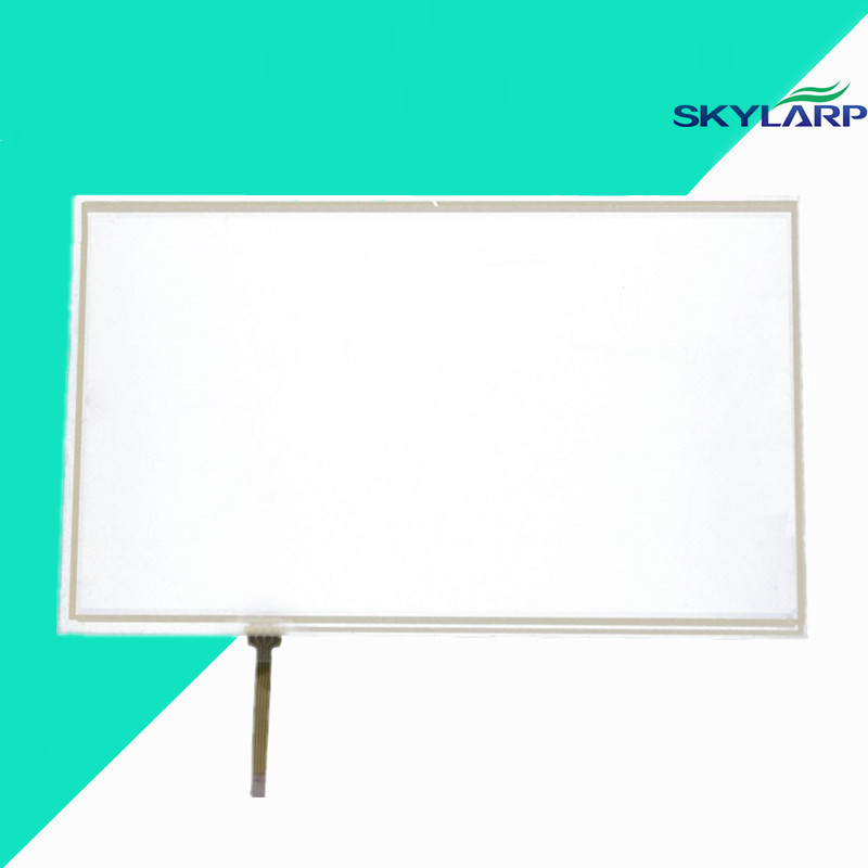 NEW 10.1 Inch 4 Wire Resistive Touch Screen Panel for B101AW03 235*143mm Screen touch panel Glass Free shipping new for 12 1 inch 5 wire resistive elo e274hl 792 touchsystems touch screen glass panel