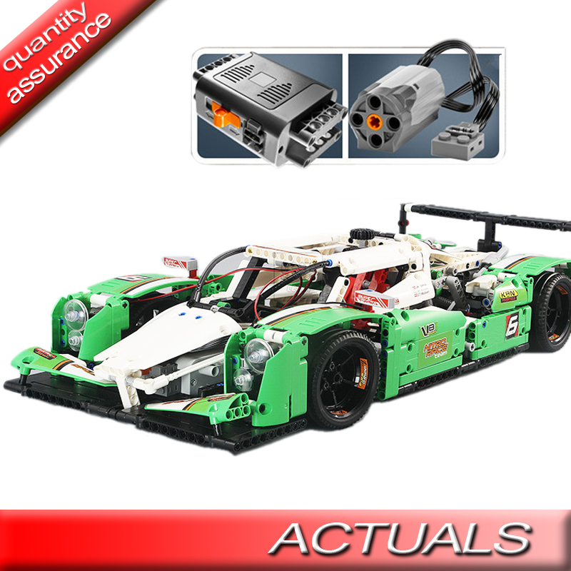 Technic 1280Pcs 24 Hours Race Car Building Blocks Motors