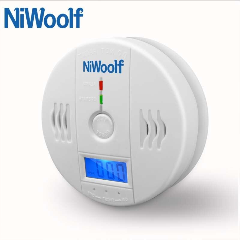 Home Security 85dB Warnung High Sensitive LCD Photoelektrische Unabhängige CO Gas Sensor Kohlenmonoxid-vergiftung Alarm Detektor