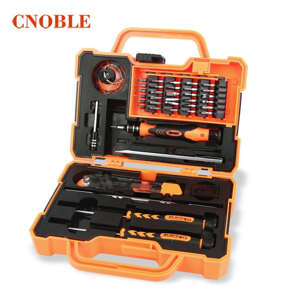 JM-8139 45 in 1 Professional Electronic Precision Screwdriver Set Hand Tool Box Set Opening Tools for iPhone PC Repair Tools Kit wlxy wl 509 professional electronic repair tools kit for iphone 4s black