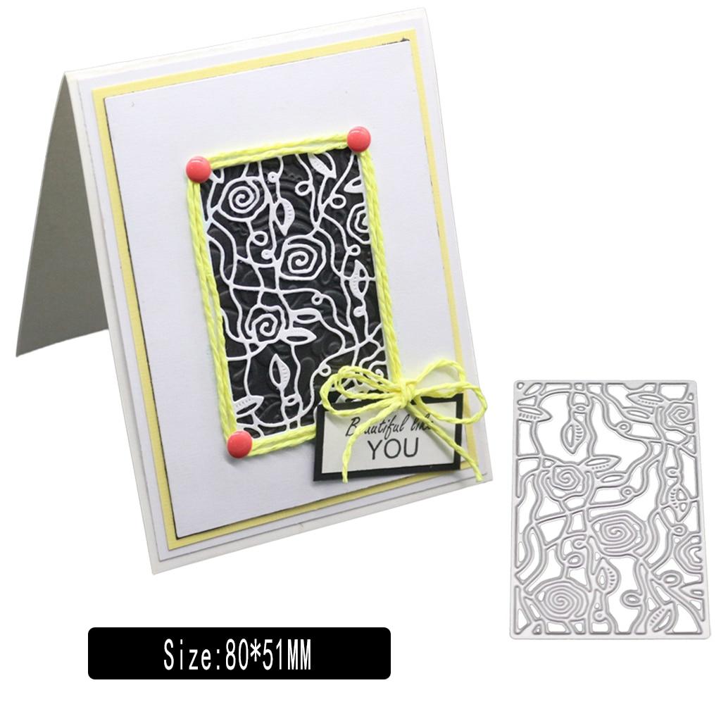Metal Cutting Dies Stencils DIY Scrapbooking Cuts Embossing Card Making Mold