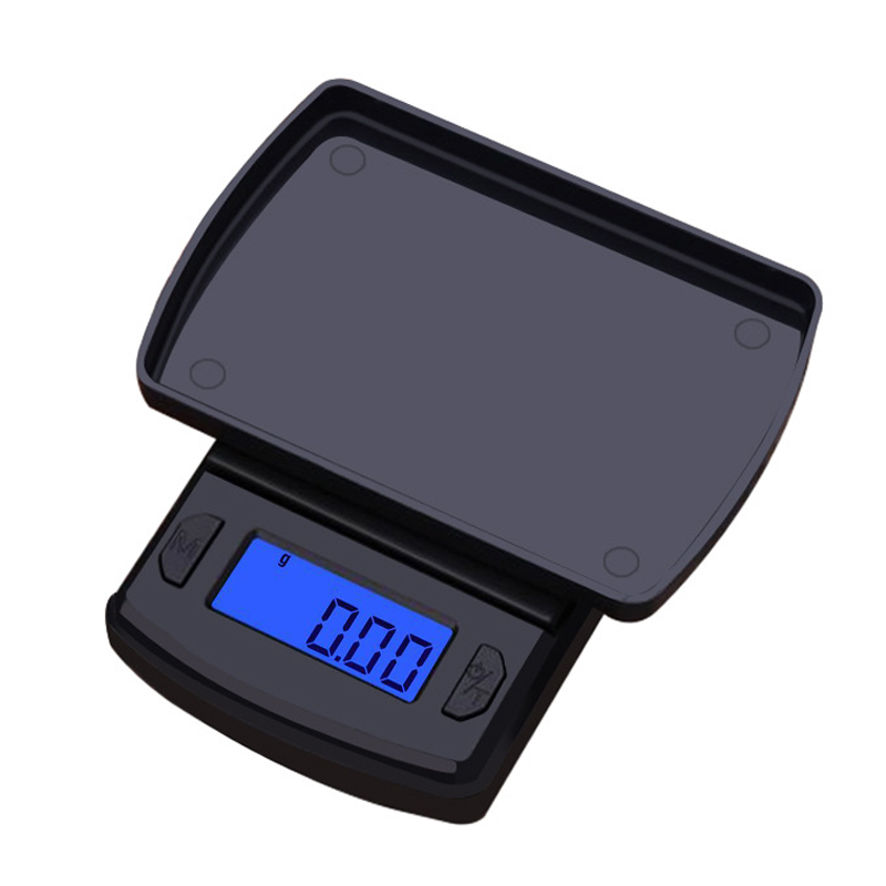 High Precision 500g/200g/100g Mini Digital Scale Jewelry Gold Balance Weight Gram LCD Pocket Weighting Electronic Scales