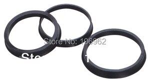 Image 1 - 74.1 72.6mm 20 sztuk czarne plastikowe piasty koła Centric pierścienie dla BMW koła obręczy części akcesoria samochodowe