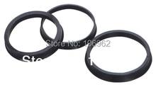 Rueda de plástico negra para BMW, 74,1 72,6mm, 20 Uds., accesorios para coche