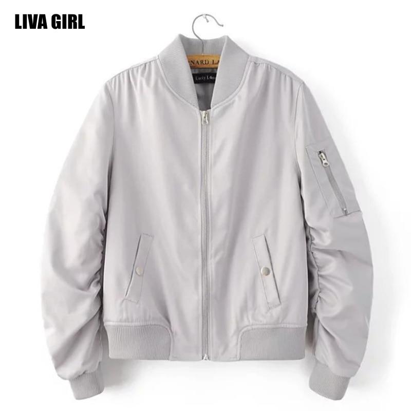 ღ Ƹ̵̡Ӝ̵̨̄Ʒ ღLIVA Girl 2017 primavera mujeres V raya chaqueta de ...