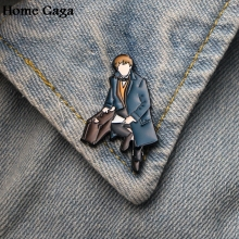 Homegaga cartoon Zinc tie Pins backpack clothes brooches for men women hat decoration badges medal D1646