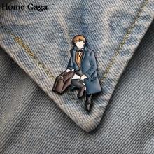 Homegaga cartoon Zinc tie Pins backpack clothes brooches for men women hat decoration badges medal D1646