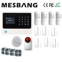 Wifi Home Alarm System With English French Russian Spanish Dutch Free Shipping By DHL