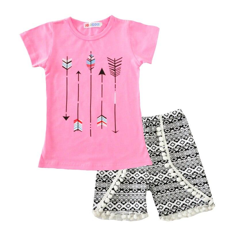 Moonlight Baby Girls Clothing Set Summer 2017 New Brand