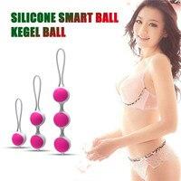 Silicone Vagina Balls Smart Vaginal Balls Female Vaginal Tight Exercise Massager Sex Toys Kegel Ball Sex Toys For Woman  #4JY2 Vagina Balls