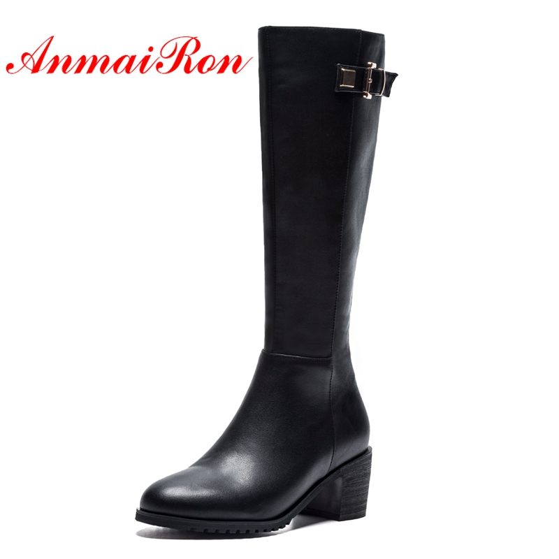 AnmaiRon   Womens Fashion Elegant Knee-length Womens Boots with Winter Boots  Boots Women Size 34-39 LY013AnmaiRon   Womens Fashion Elegant Knee-length Womens Boots with Winter Boots  Boots Women Size 34-39 LY013