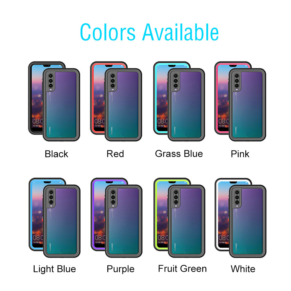 for Huawei P20 Pro Waterproof Case Shockproof Dustproof 360 Full Cover for Huawei P30 Pro Case for Huawei P20 Lite Case P20 P30 in Fitted Cases from Cellphones Telecommunications