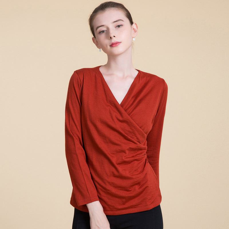 New Fashion Women Wool Sweater Full Pullovers V neck Sweet Cashmere Sweater Comfortable Soft Female Sweaters