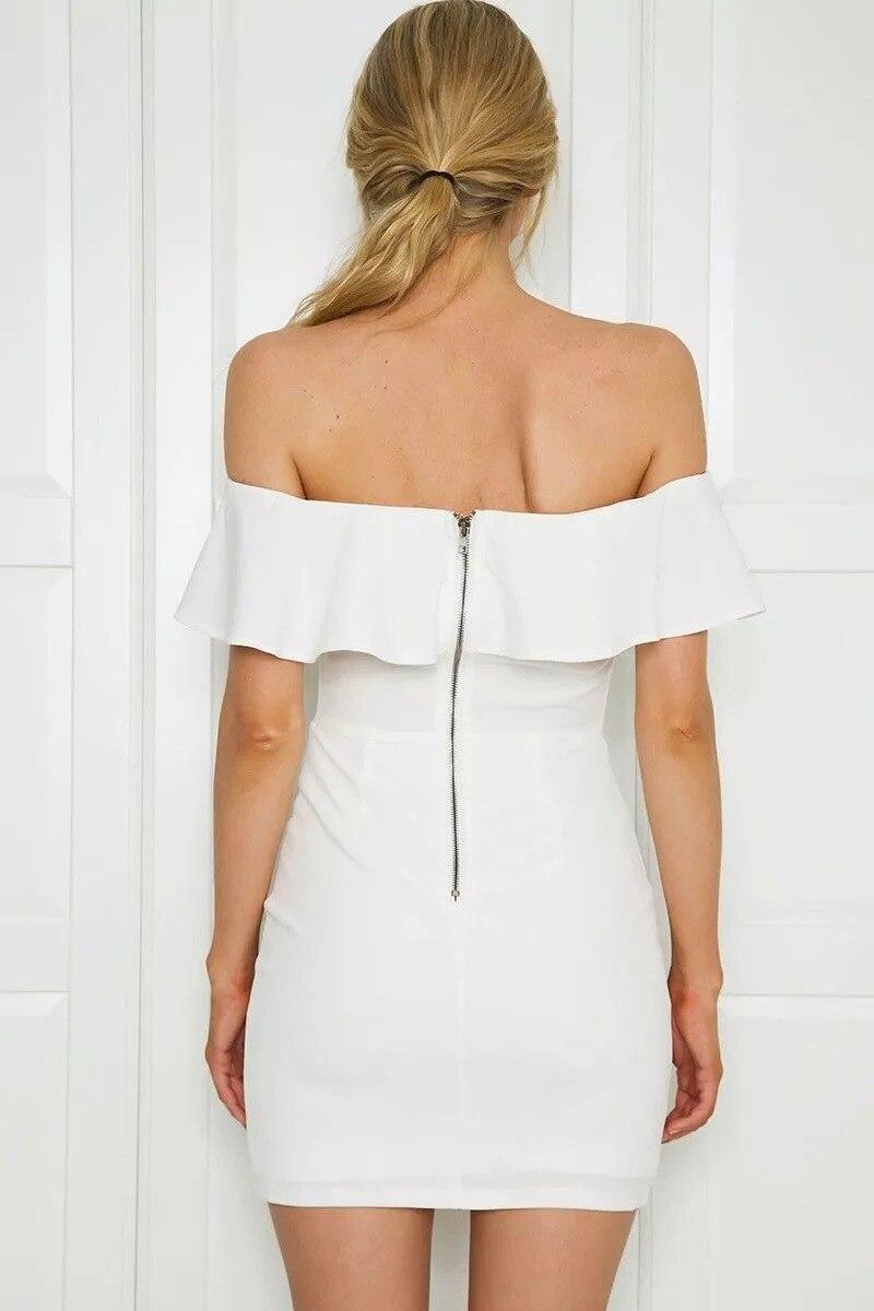 HTB1lXcMRpXXXXcmaXXXq6xXFXXXB - FREE SHIPPING Summer Dress Women Black White Sexy Off Shoulder Embroidery JKP313