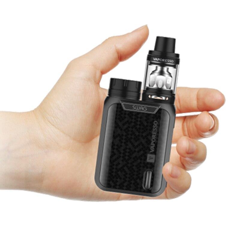Kit Original Vaporesso Swag Cigarette électronique Vape e-cigarettes 80 W TC Mod avec réservoir NRG SE utiliser bobine GT sans batterie 18650 - 6