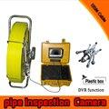 (1 set)120M Cable surveillance system Pipe Inspection Camera Underwater waterproof IP68 DVR function CCTV camera system pan tilt