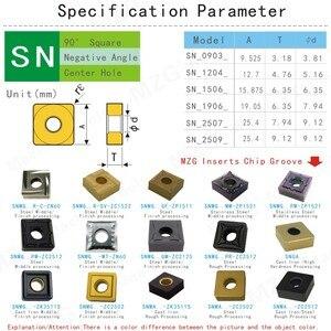 Image 4 - MOSASK 10 stücke SNMG120408L S ZC35 Grobe Verarbeitung von Harten Stahl Bearbeitung Wolfram Hartmetall Einsätze
