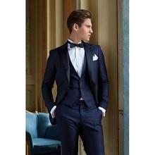 Popular Slim Fit Navy Blue Dress Suit-Buy Cheap Slim Fit Navy Blue ...