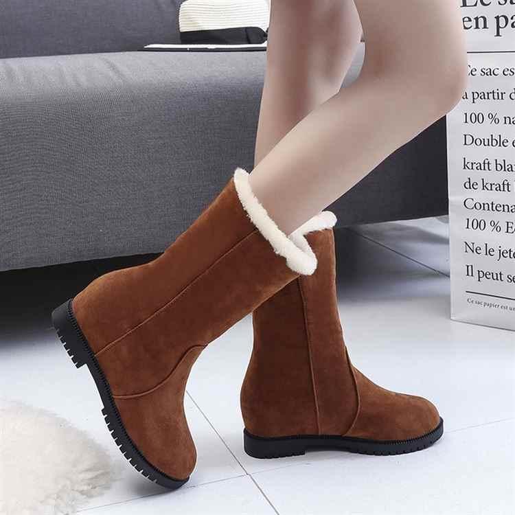 2018 г. женские ботинки женская мягкая обувь на плоской подошве женские замшевые кожаные ботинки на шнуровке женская зимняя обувь 3 цвета 35-40