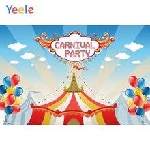 Yeele карнавал вечеринка Декор фотосессия цирк выполнять фотографии
