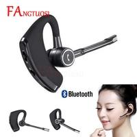 FANGTUOSI высокое качество V8S Бизнес Bluetooth гарнитура Беспроводной наушники с микрофоном для iPhone Bluetooth V4.1 телефона громкой связи