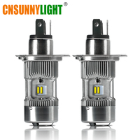 CNSUNNYLIGHT LED Trucks H4 Headlight Bulbs H/L Bi Beam White 6000K 14400Lm/pair Replace for Volvo For DAF Lights Accessories 24V