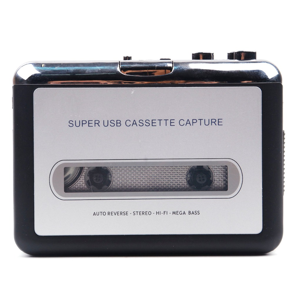 cassette record player Portable USB Cassette Player Capture Cassette Recorder Converter Digital Audio Music Player DropShipping 6