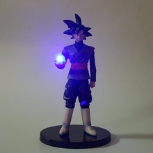 Goku Black Light Up Dragon Ball Z Black Son Zamasu LED Light Up (15 CM) dbz